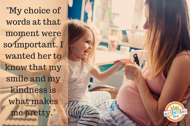 My choice of words at