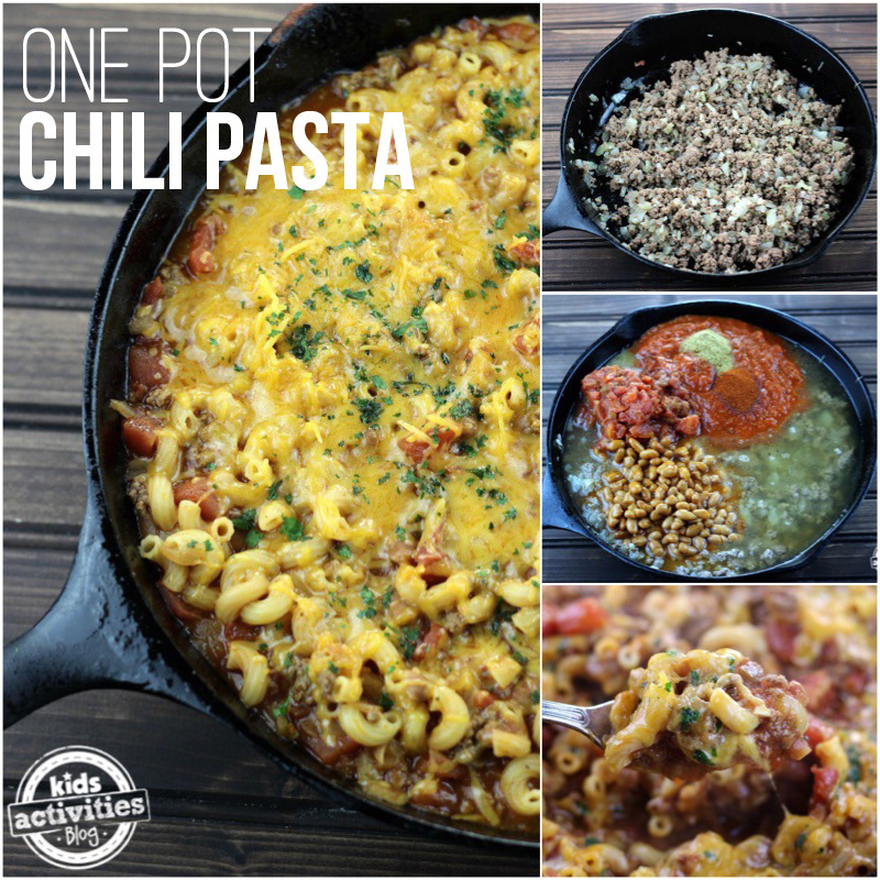 One Pot Chili Pasta