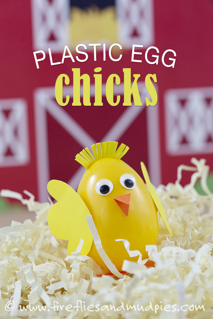 Plastic Egg Chicks