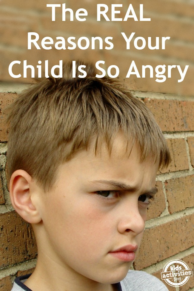 The Real Reasons Your Child Is Angry