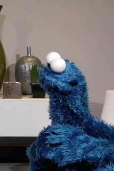The Cookie Monster is a surprisingly effective life coach!