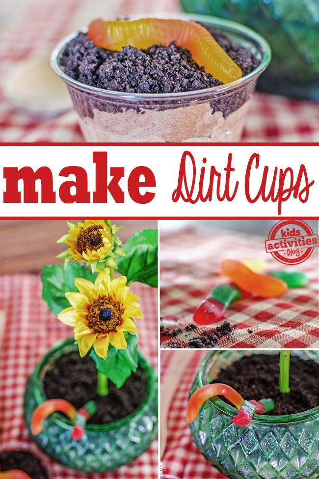 dirt cup PINTEREST