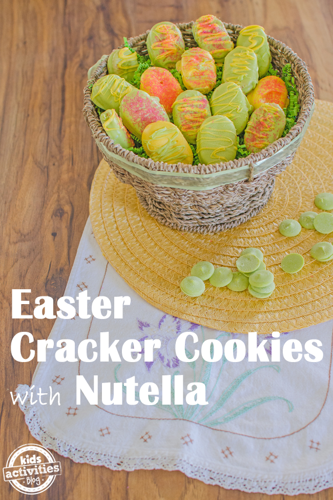 easter cracker cookie
