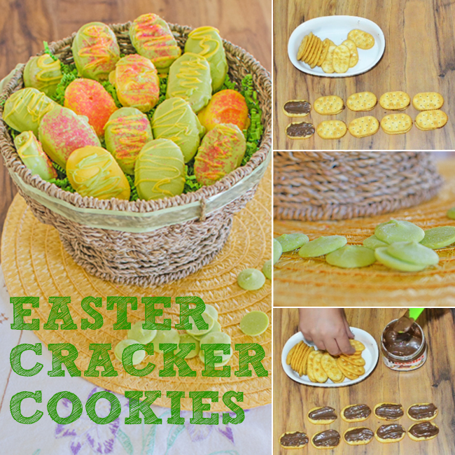 easter cracker cookies