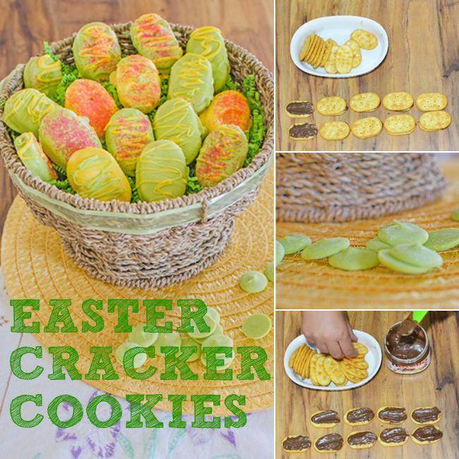 easter cracker cookies