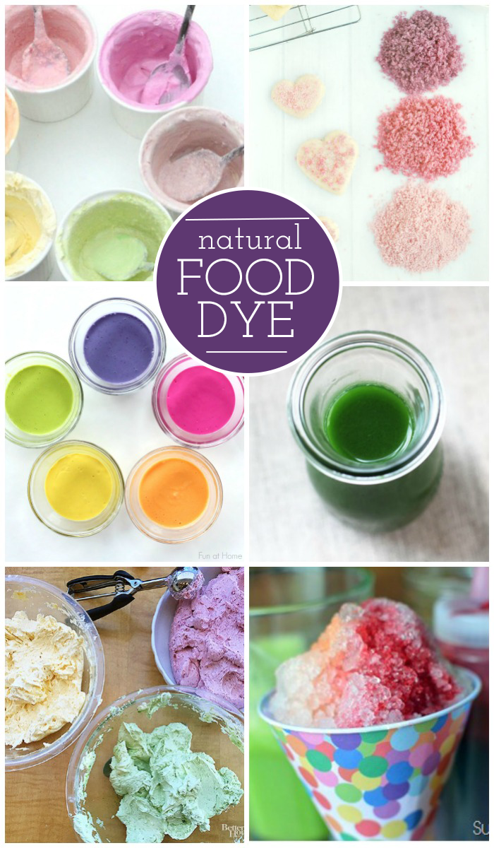 How To Make Your Own Food Coloring Naturally