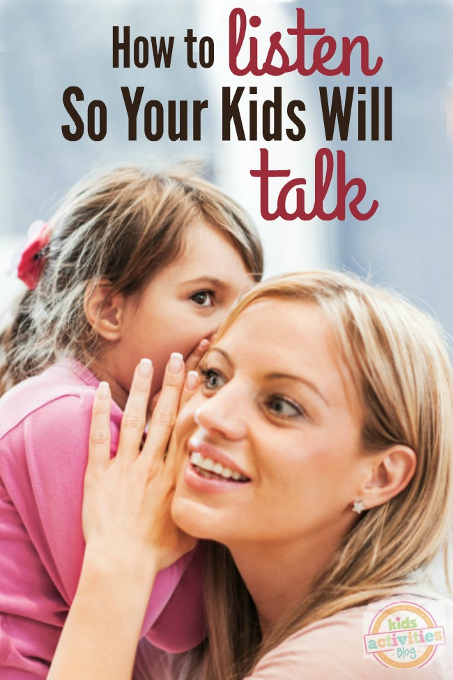 listen to a talk_How to Listen So Your Kids Will Talk To You