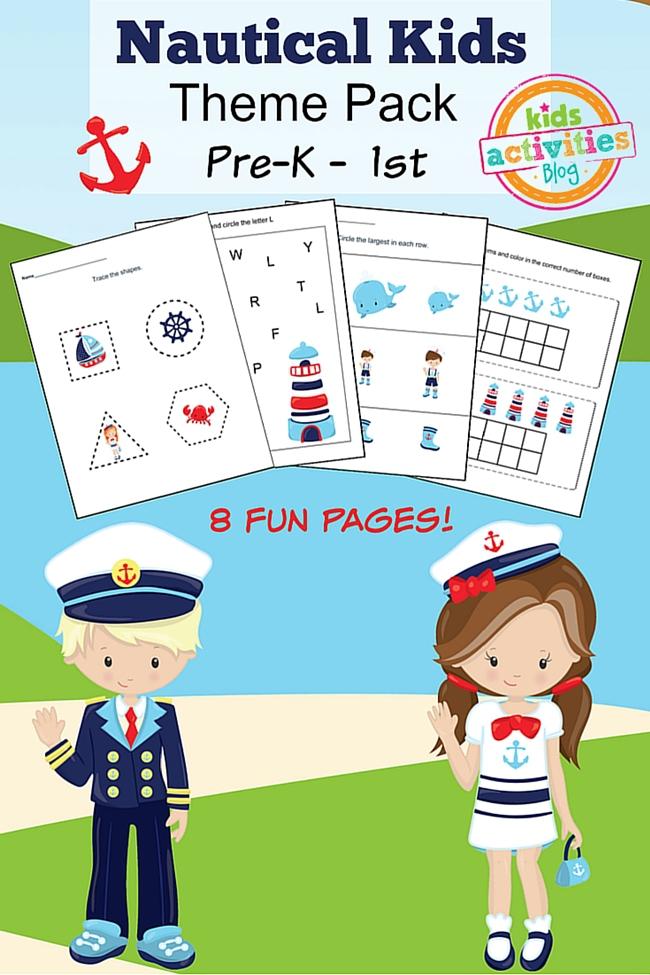 kindergarten worksheet
