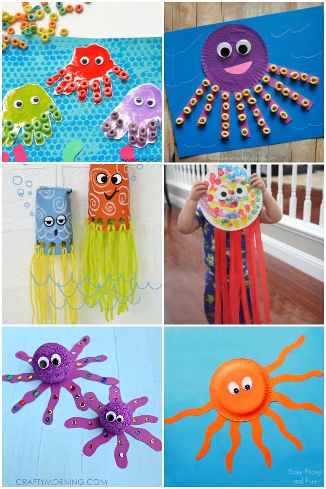 16 Fun Octopus Crafts Amp Activities