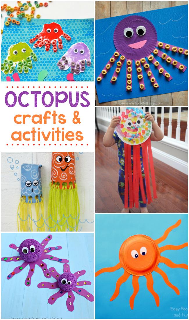 16 Fun Octopus Crafts Activities