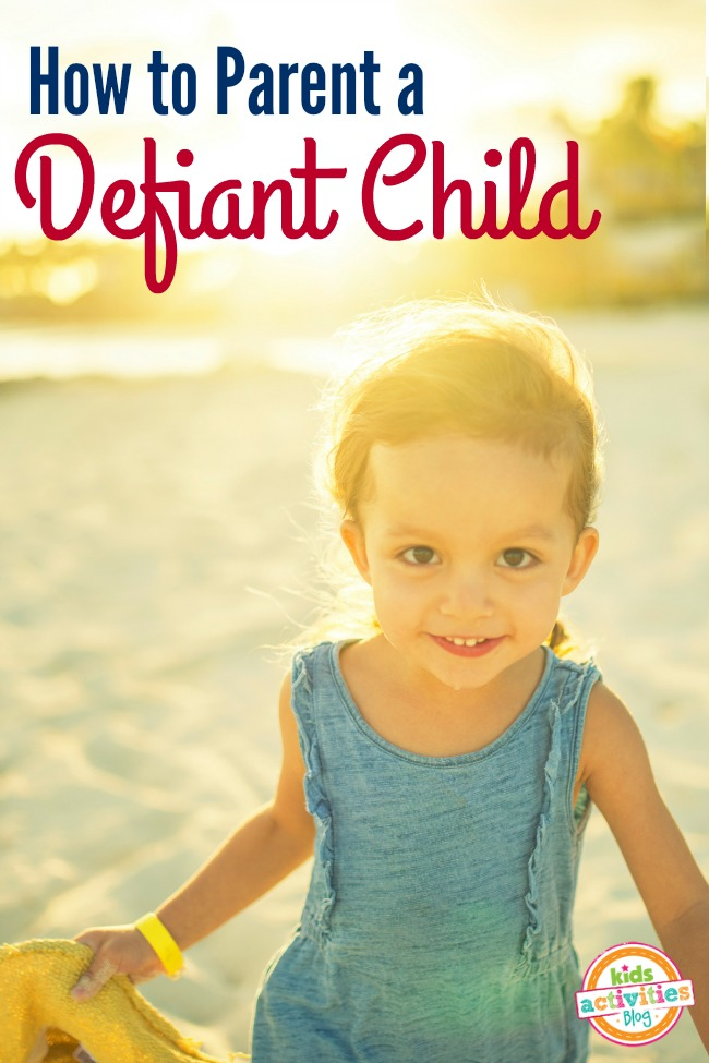 Are you parenting a defiant child? Is your child strong-willed, headstrong or stubborn? This is a must read.