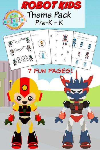 Printable Preschool Worksheet