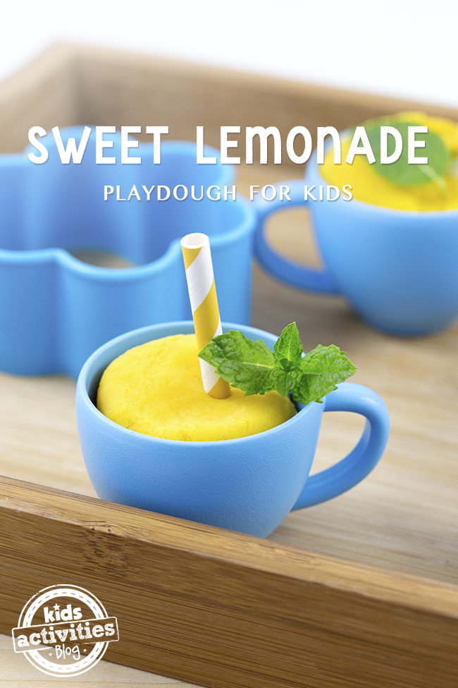 Sweet Lemonade Playdough