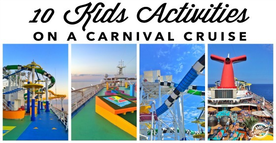 10 Kids Activities on a Carnival