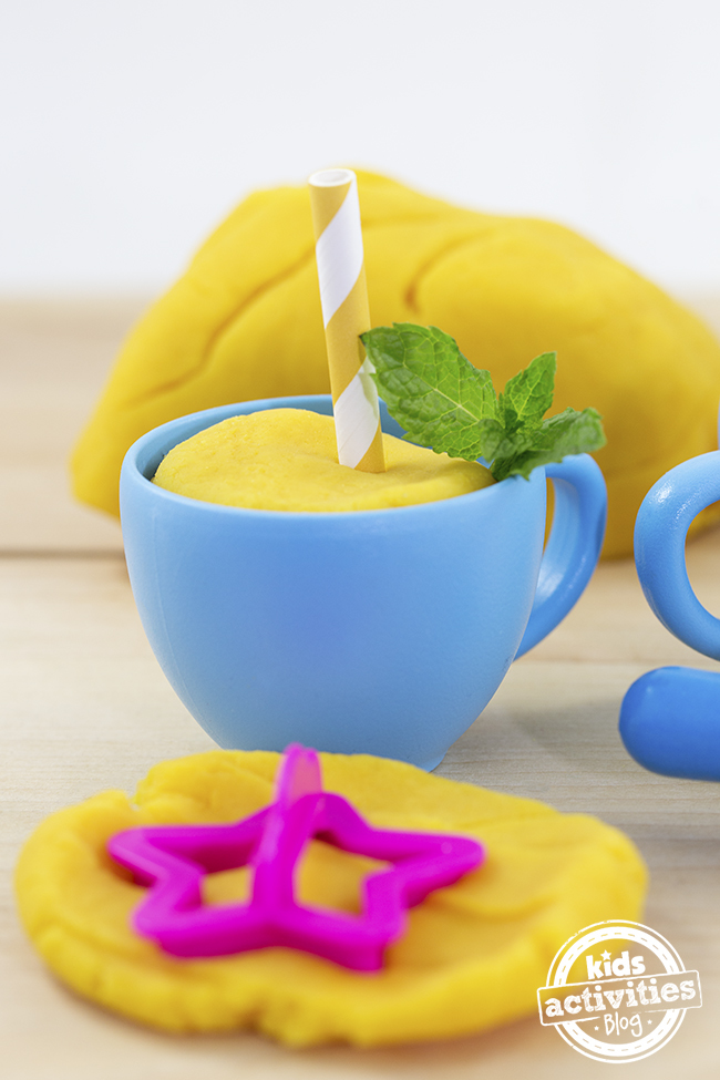 Sweet Lemonade Playdough