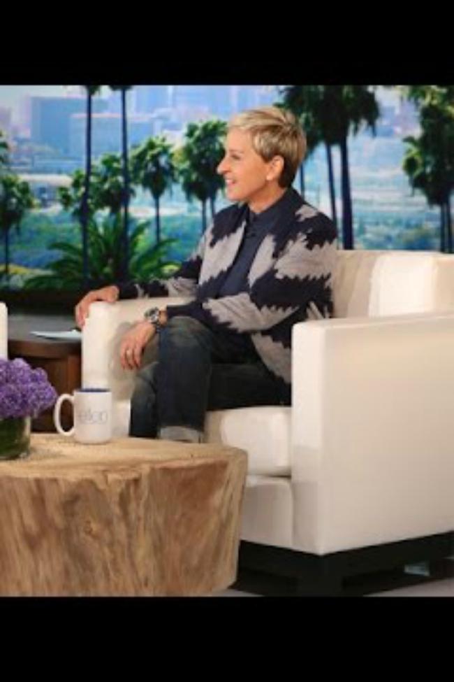 Ellen meets real life dory