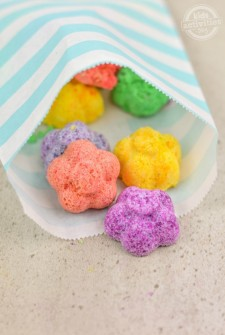Flower Bath Fizzies