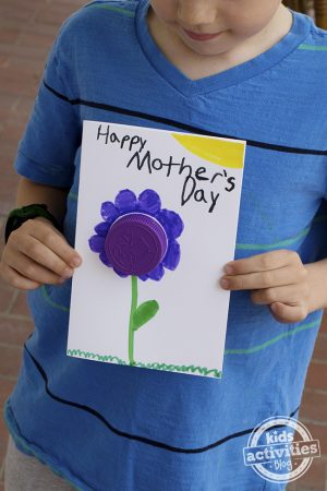 Easy Mother's Day Card Idea