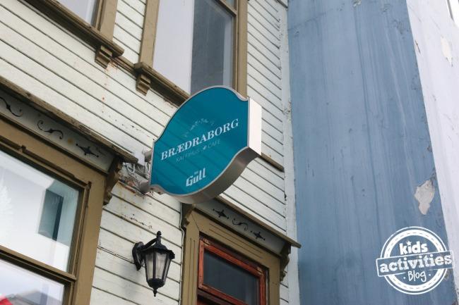 Braeoaraborg Restaurant, Iceland