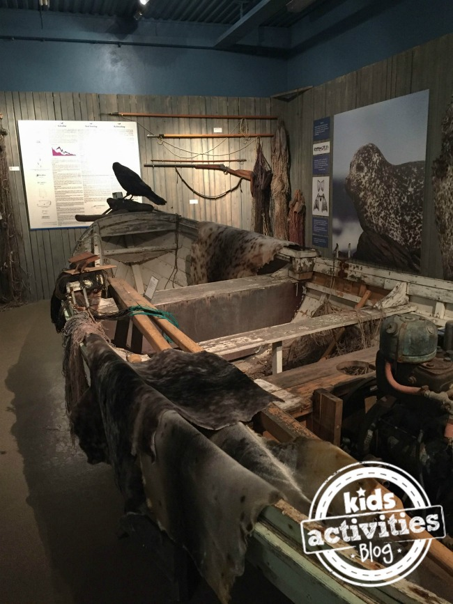 Boat at Icelandic Seal Center
