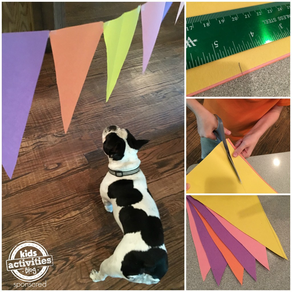 Making a party banner