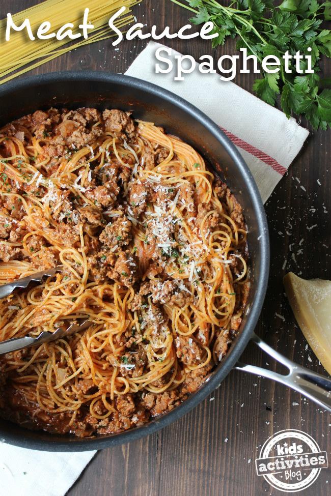 One Pan Spaghetti