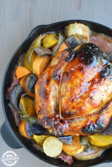 Roasted Root Chicken
