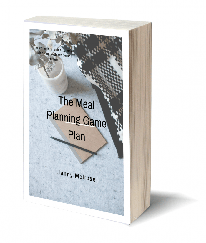 The Meal Planning Game Plan Cover Image