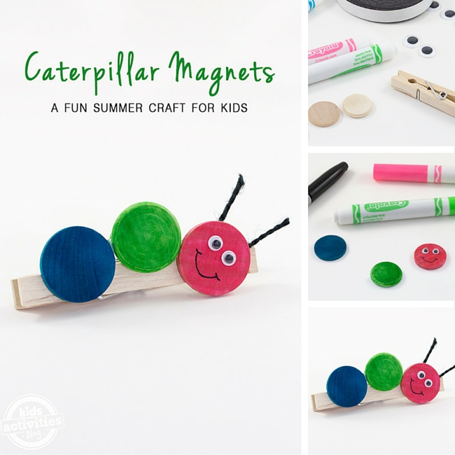 Caterpillar Refrigerator Magnets