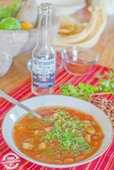 Slow Cooker Borracho Beans