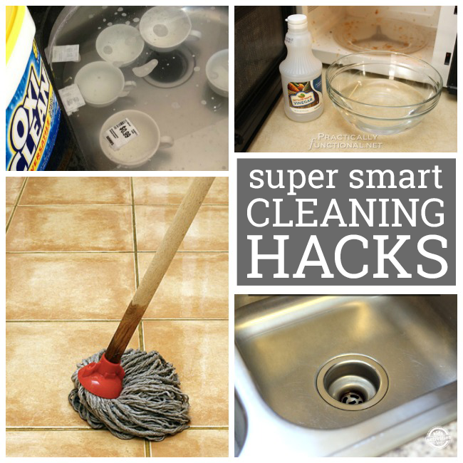 20 Cleaning Tips To Make Life Easier