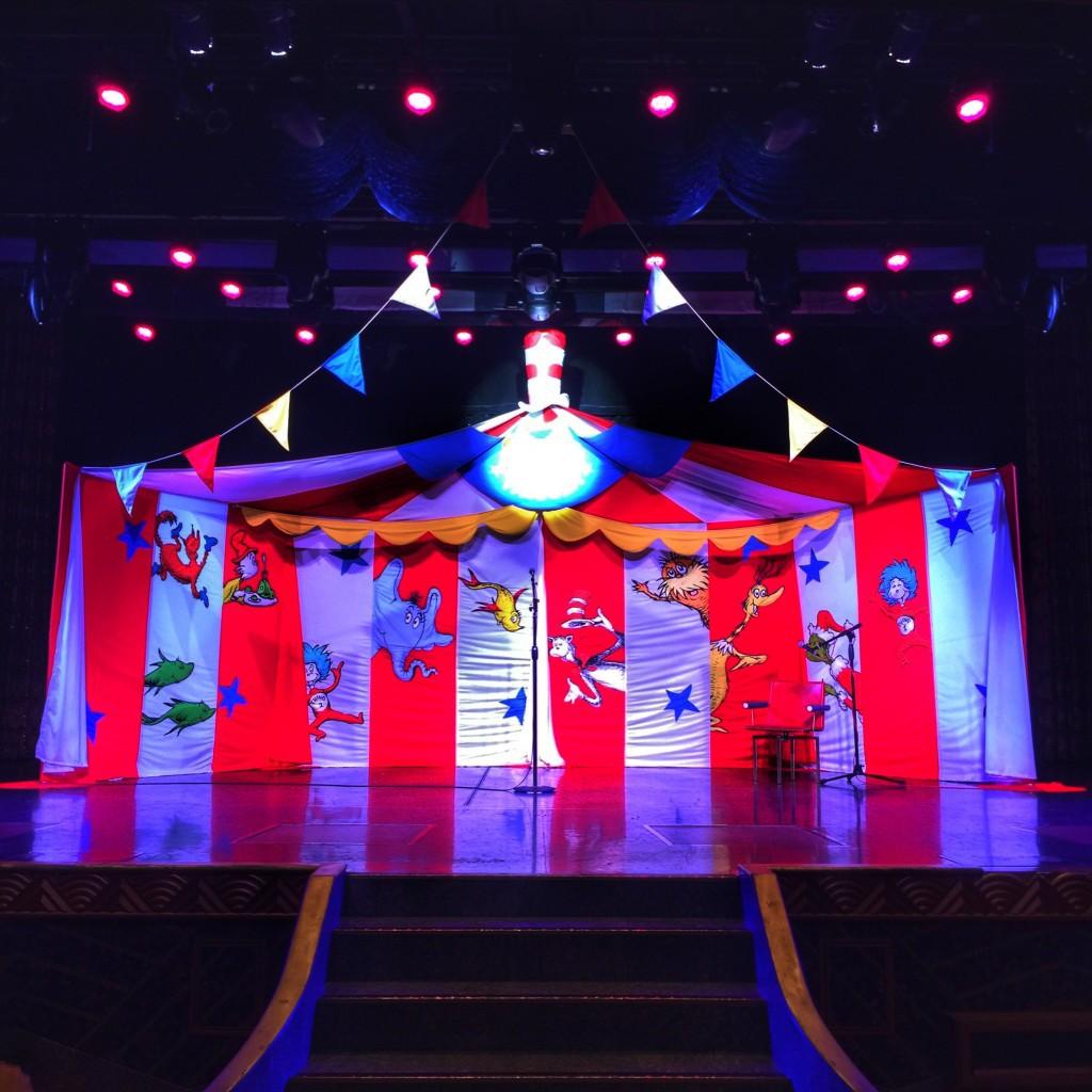 Carnival's Seuss-a-Palooza Story Time