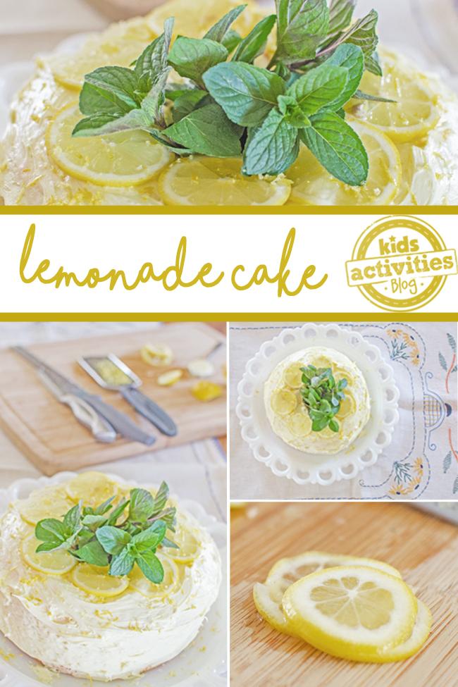 lemonade cake PINTEREST