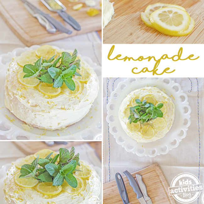 lemonade cake SQUARE