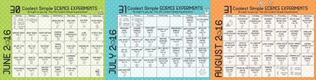 science everyday play calendar