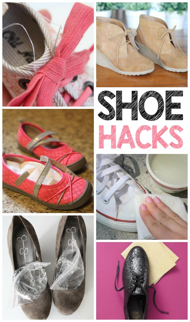 16 Brilliant Shoe Hacks