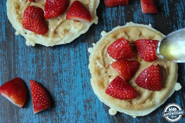 Breakfast Almond Butter Waffles