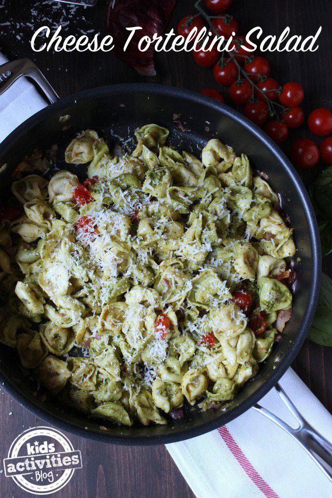 Cheese-Tortellini-Salad