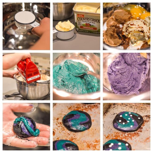 Galaxy Cookie Steps