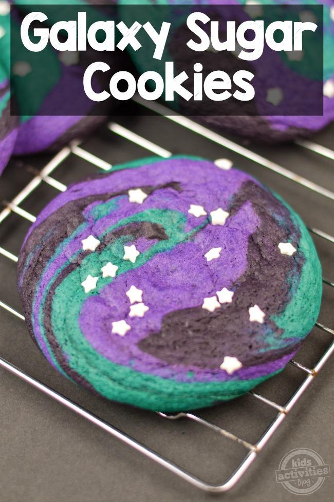 Galaxy Sugar Cookies