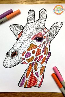 Giraffe Zentangle PIC-FI