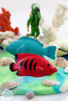 Under the Sea Playdough