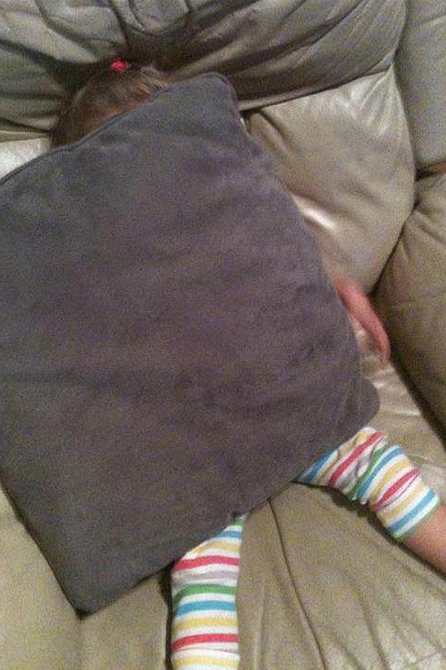 Kid Playing Hide and Seek