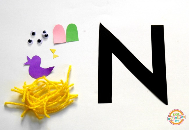 N is for nest 2