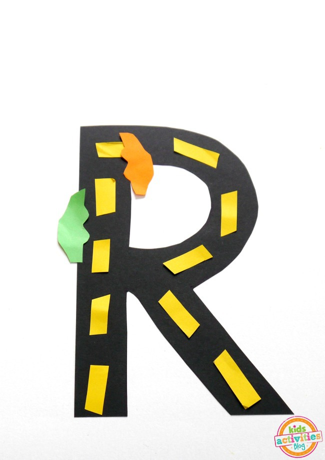 Road Letter Craft