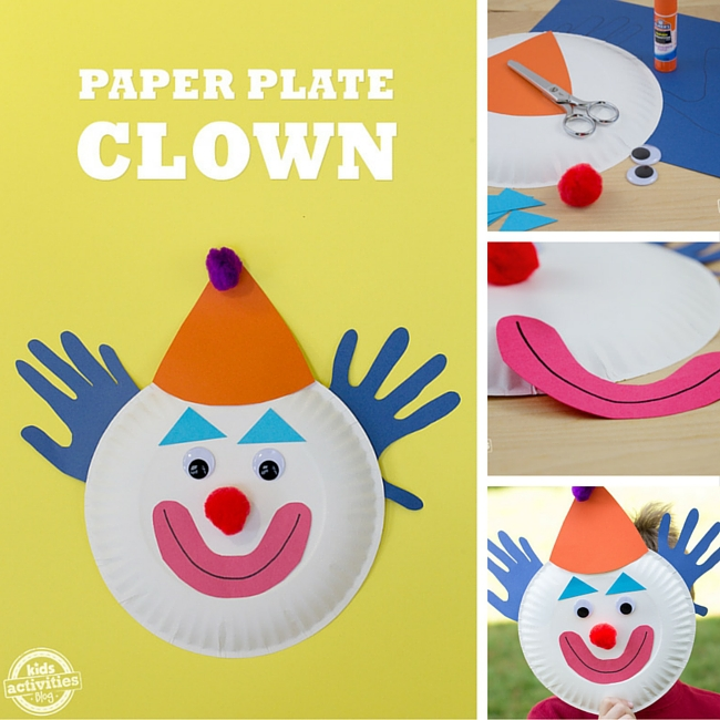 Paper Plate Clown  sc 1 st  In the Loop Kids - BubbleLife & Paper Plate Clowns - Dallas Single Parents