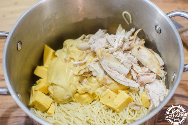 chicken spaghetti 5