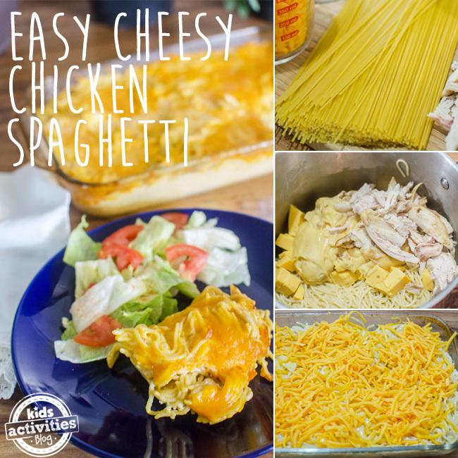 chicken spaghetti SQUARE