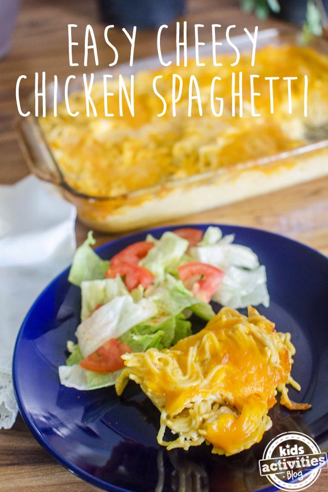 chicken spaghetti text
