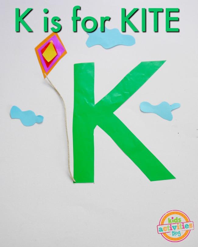 K For Kite Craft